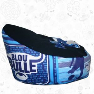 Blue Bulls baby bean bag