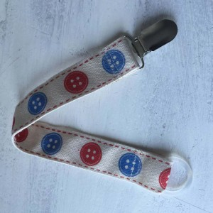 Boys Buttons Dummy Holder