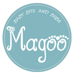 Magoo Baby Bean Bags and dummy holders