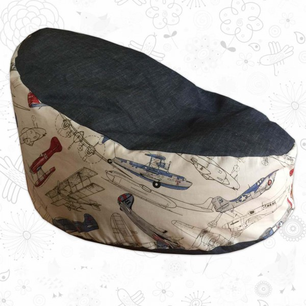 Aeroplane Toddler Bean Bag