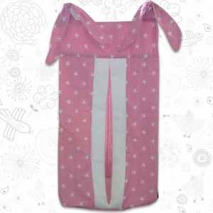 Pink Stars Nappy Stacker