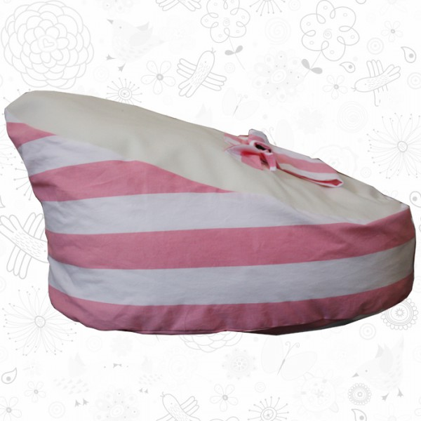 baby bean bags stripes