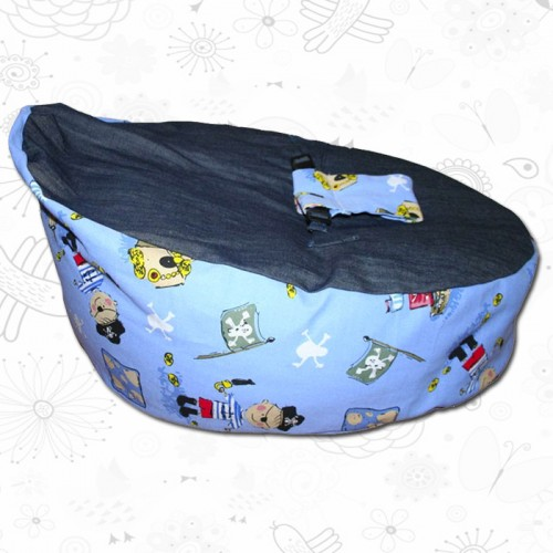 pirate baby bean bag