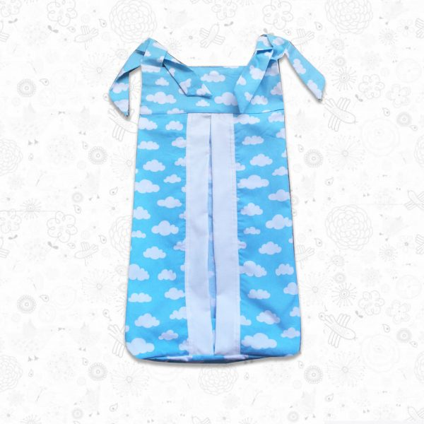 Blue Clouds Nappy Stacker