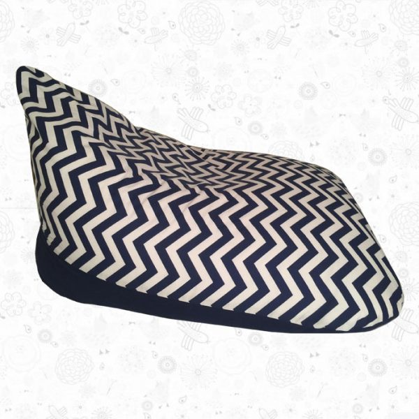 Navy-chevron-kids-beanbag-side-view